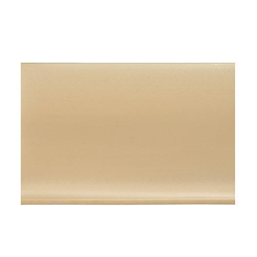 Plinthe à gorge en vinyle autocollante 4 po, beige