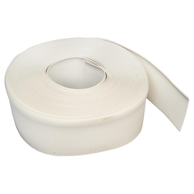 """Vinyl Cove Base - Self-Stick - 4"""" x 100' - White"""