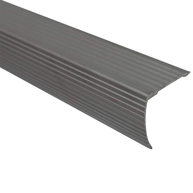 "Cinch(TM) Aluminum Nosing - 72"" - Satin Silver"