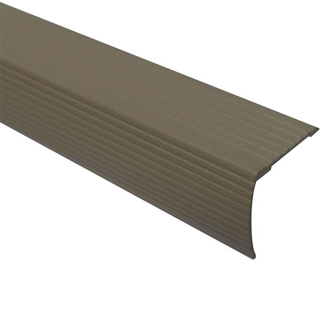 """Cinch(TM) Aluminum Nosing - 72"""" - Beige"""