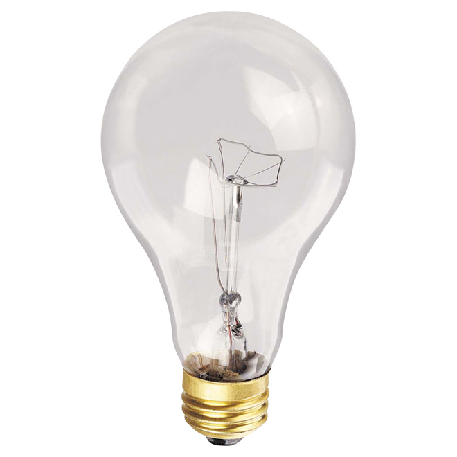 Globe Incandescent Bulb - A23 - 200W - Clear