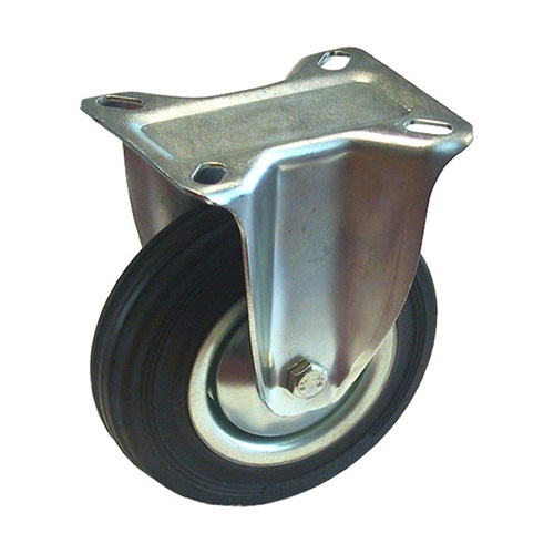 """Caster - Rigid Plate Caster - 4"""""""