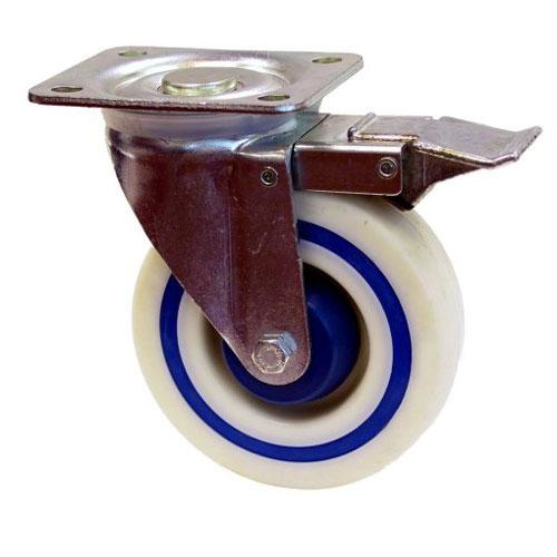 """Roulette pivotante en polyamide, 5"""""""