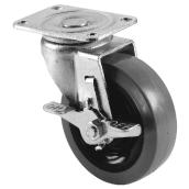 Caster Swivel - Metal - 4'', 250 lb