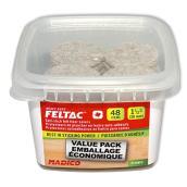 Self-Adhesive Felt Pads - Round - Beige - 1 1/2