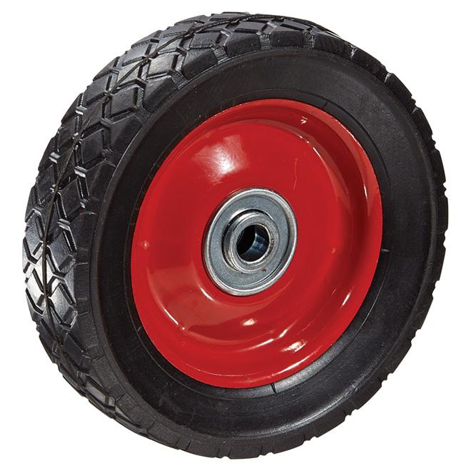 """Lawn Garden Wheel - 110 lbs Capacity - 6"""""""