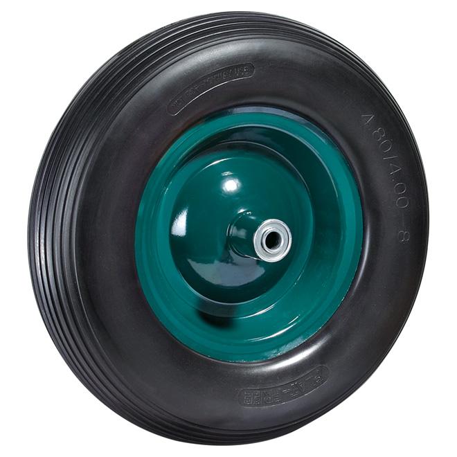 "Flat-Free Wheel - 308 lbs Capacity - 16"""