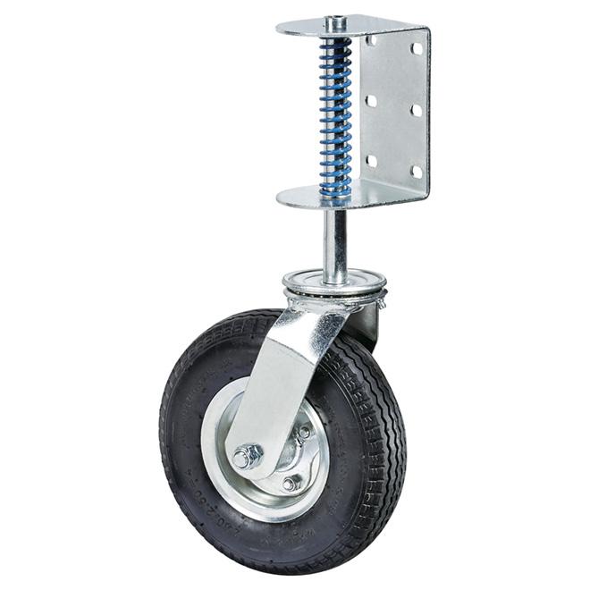 """Roulette pivotante pour barrière, capacité 220 lb, 8"""""""