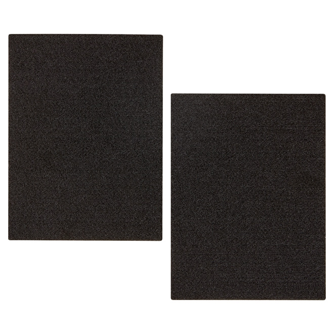 "Self-Adhesive Felt Pads - Eco - Sheet - 4 1/2"" x 6"" - 2/Pk"