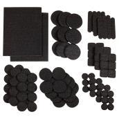 Coussinets autoadhésifs Eco assortis, noirs, 105/pq
