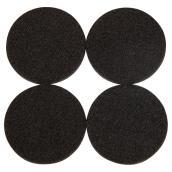 Self-Adhesive Felt Pads - Eco - Round - Black - 2 1/4