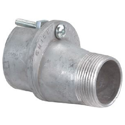 """1 1/4"""" Male Reducer for 2 1/2"""" Mast - Zinc"""