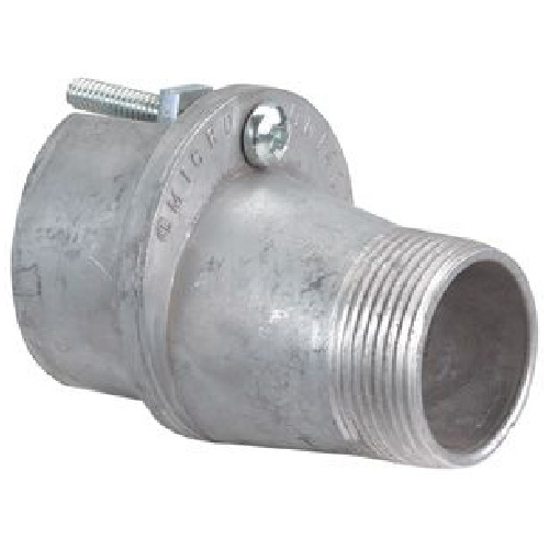 """2"""" Male Reducer for 2 1/2"""" Mast - Zinc"""