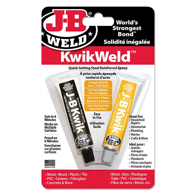 """""""Kwikweld"""" Quick Setting Steel Reinforced Epoxy Adhesive"""
