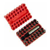 Fuller - Tool Bit Set - 34 Pieces - Tempered Steel