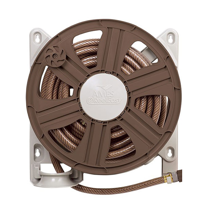 """Reel Easy"" Wall-mount Hose Reel"
