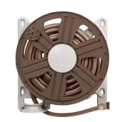 Garant Reel Easy Wallmount Hose Reel - 5/8-in x 100-ft - Brown
