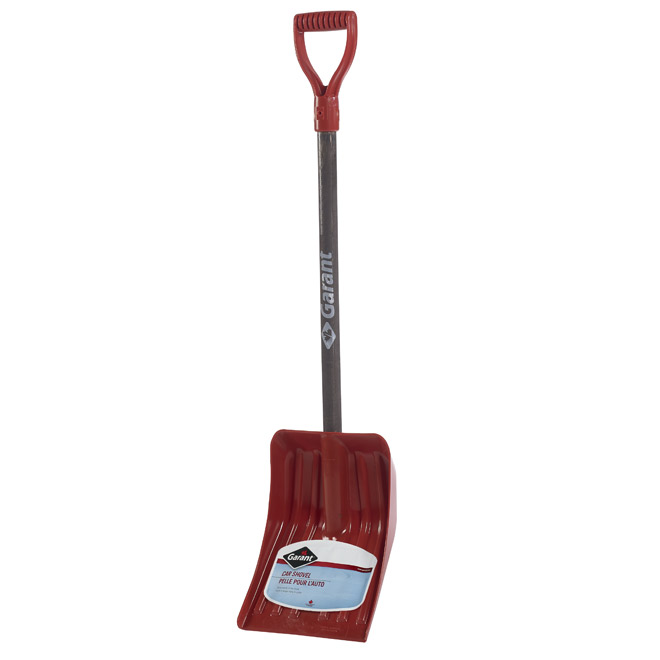 Garant Car Snow Shovel - Red - 9'' x 38''
