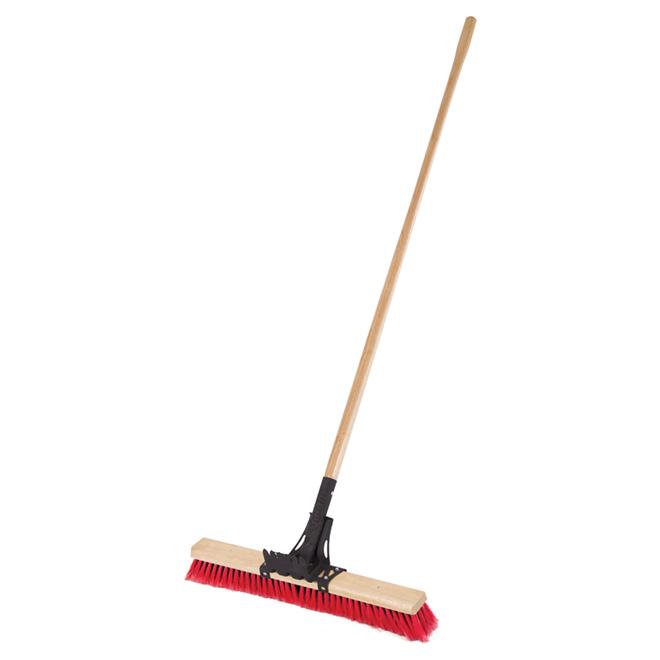 "Pro Series Industrial-Grade Roofer's Brush - 24"""
