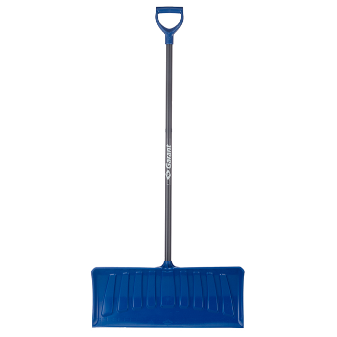 "Snow Pusher 26"" - Anti-Slip Steel Handle"