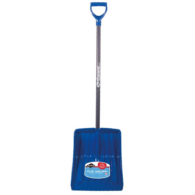 """Poly Blade Snow Shovel - 13.9"""" - Blue"""