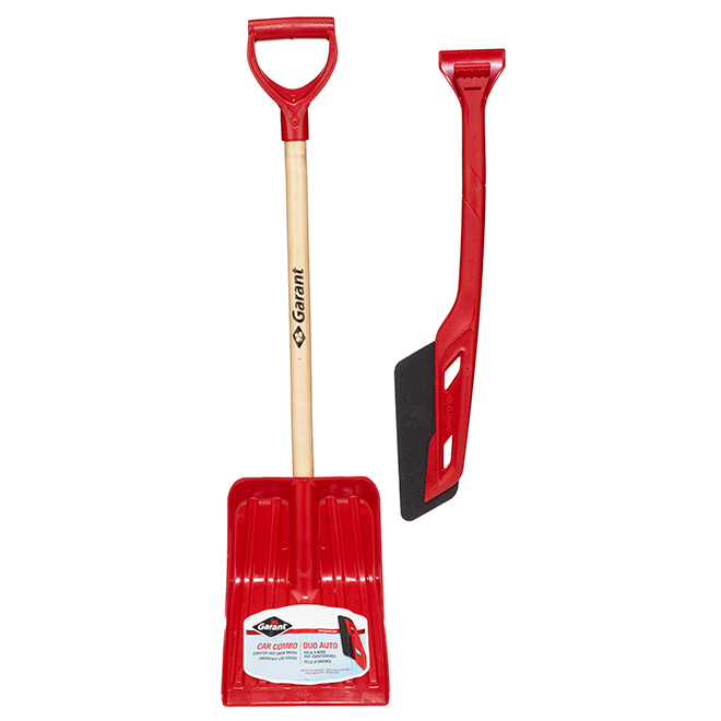 "Car Brush and Shovel Combo - 26"" - Red"