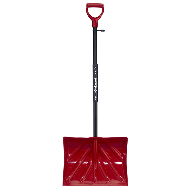 """Foldable Compact Shovel - 18"""" - Red"""