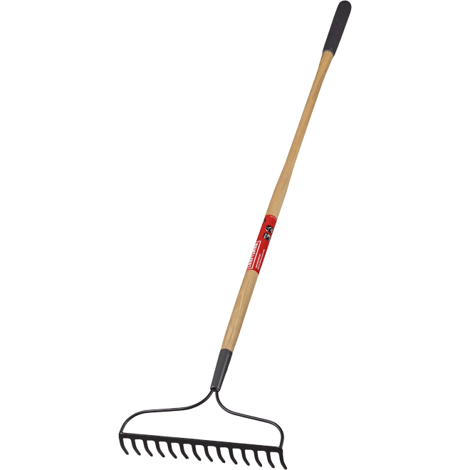 Craftsman Bow Rake - Steel and Wood - 14 Tines - 60-in