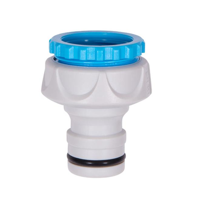 Adaptateur de robinet universel, raccord raide, plastique