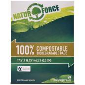 Sacs compostables - boîte de 20