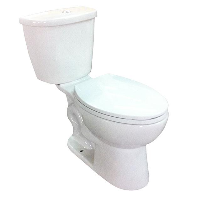 Toilette allongée 2 pièces