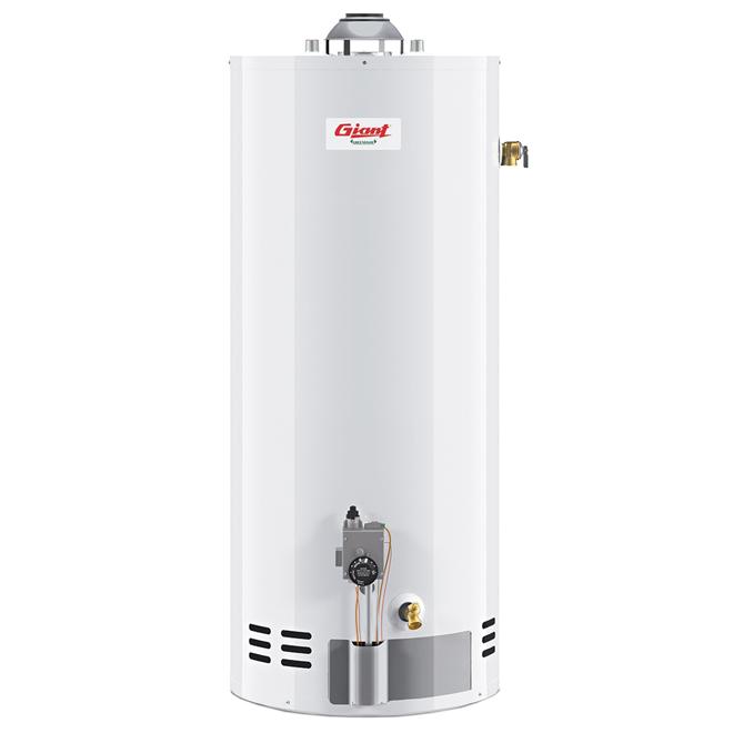 Chauffe-eau au gaz naturel Giant, 50 gallons US, atmosphérique