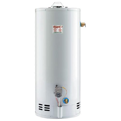 Chauffe-eau au gaz 40 gal, 38 000BTU, blanc