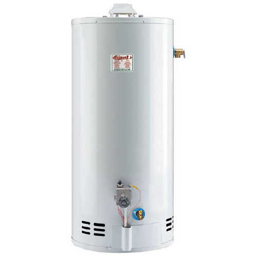 Chauffe-eau au gaz 50 gal, 40 000BTU, blanc