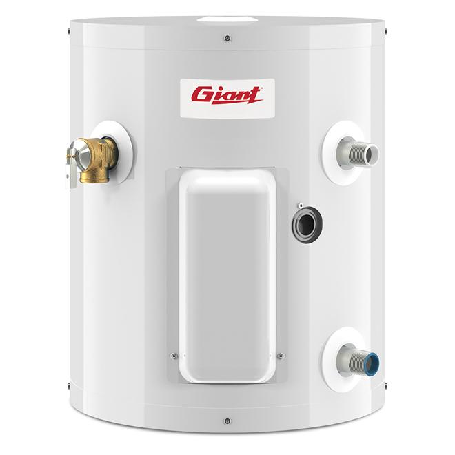 Chauffe-eau électrique 5 gal, 3000W, blanc