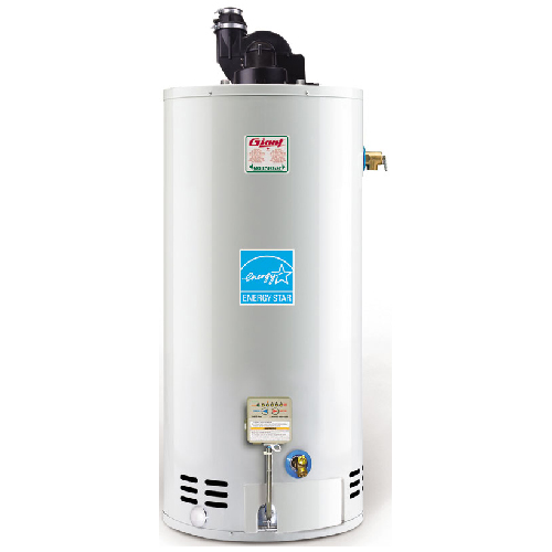giant gas water heater 40 gal - 40 000 btu - white ug40-40lfpv1-n2u