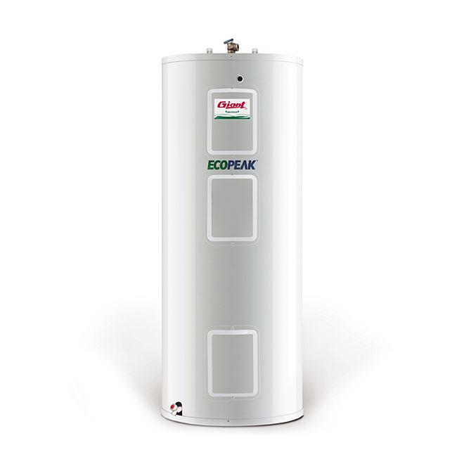 Chauffe-eau électrique 60 gal, 800W/3000W/3800W, blanc