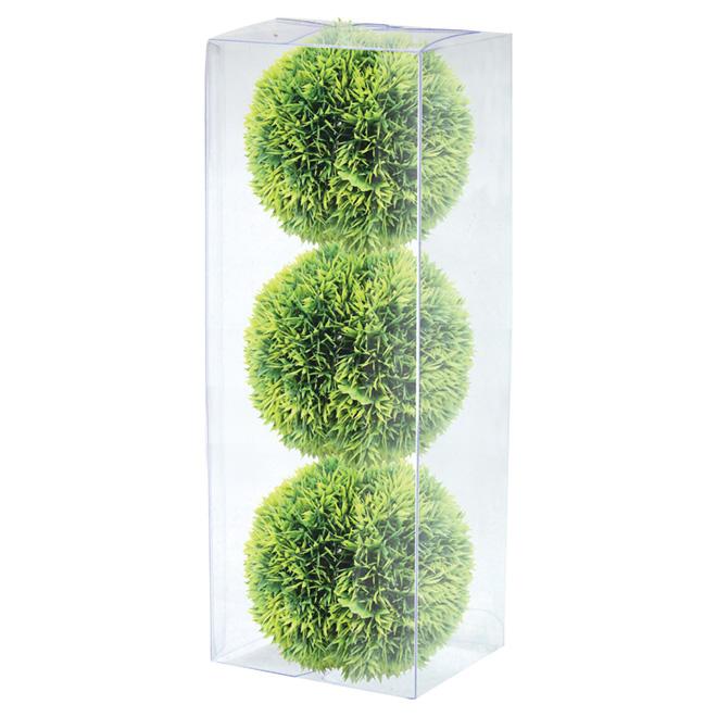 Boules de verdure artificielles Allen + Roth, 3 pièces
