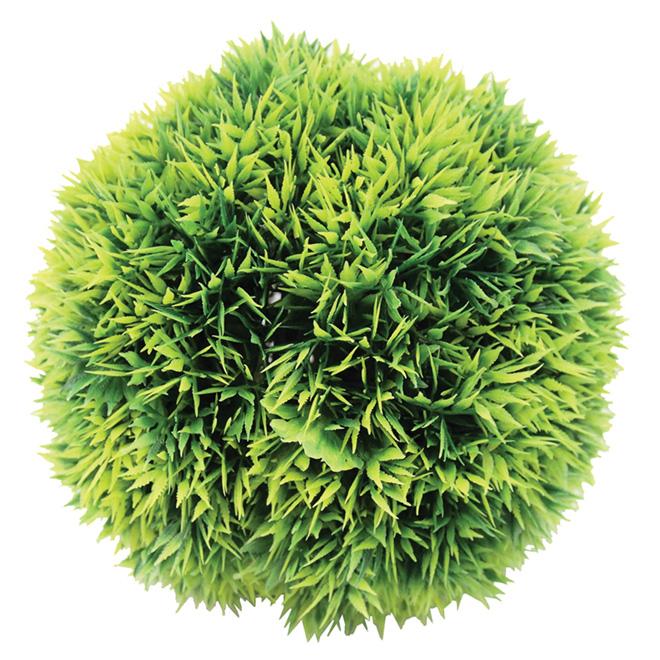 """Boule de verdure artificielle, polypropylène, 14 1/2"""""""