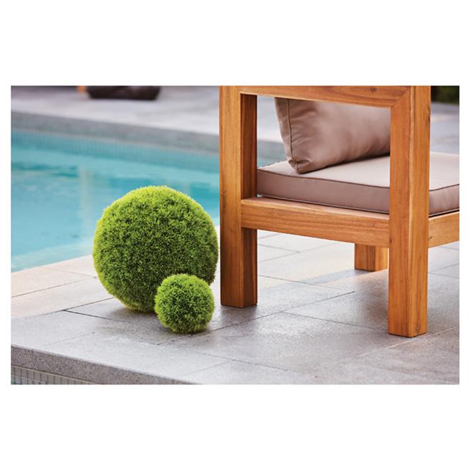 Allen + Roth Artificial Grass Ball - 14.6-in