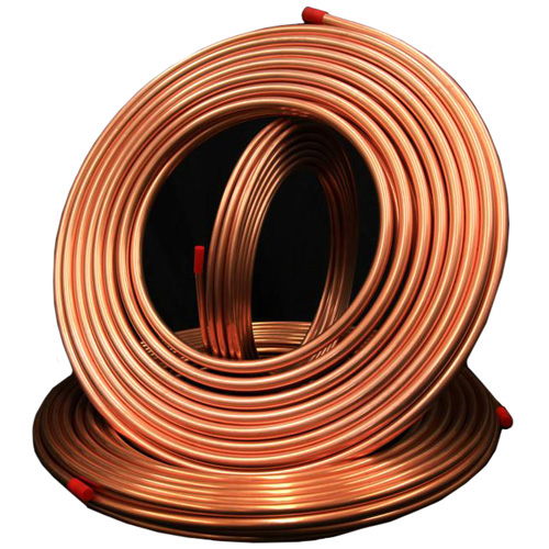 "Refrigeration-Type Copper Pipe - 1/4""x50'"