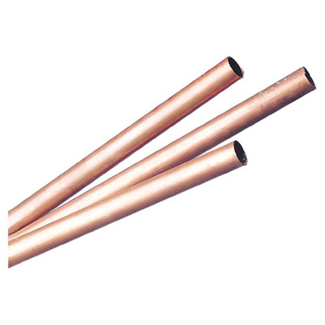 "3/4"" x 3' L-Type Copper Pipe Hot and Cold Water"