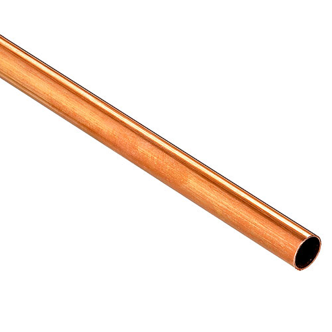 Tuyau en cuivre 1-1/2 po