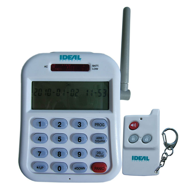 Système d'alarme sans-fil avec composeur téléphonique