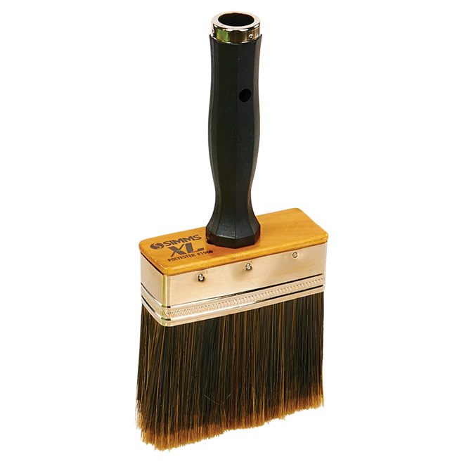 Stain and Paint Brush - Polyester - Extra Thick - 4""
