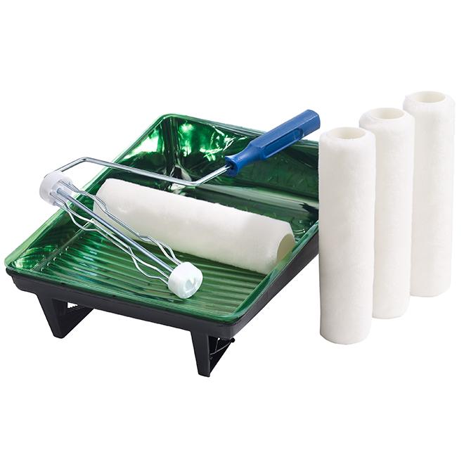 Paint Kit - Fibre - 240 mm - White - 10/Pk
