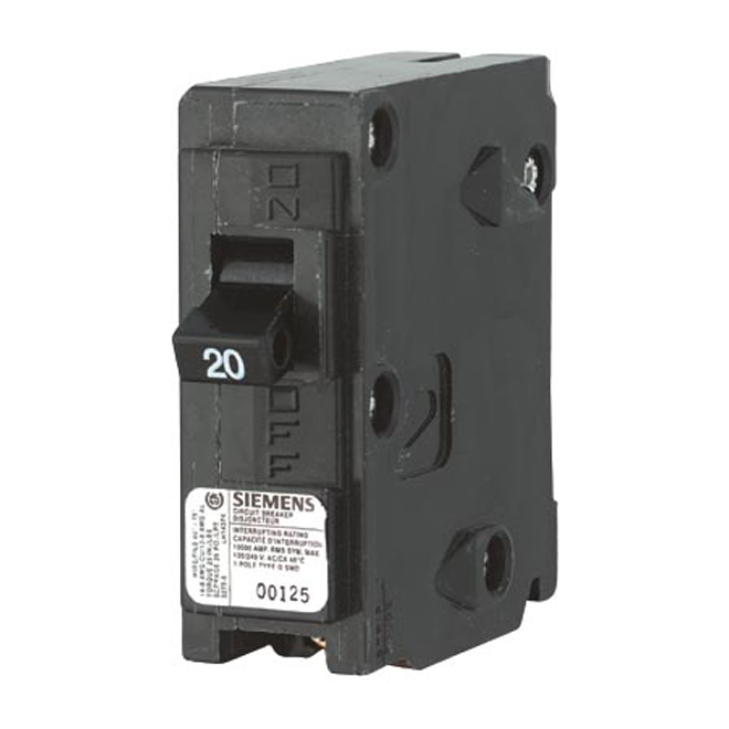 1-Pole Thermomagnetic Circuit Breaker