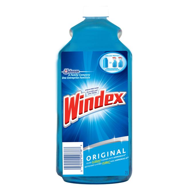 Recharge de nettoyant à vitre 2 l