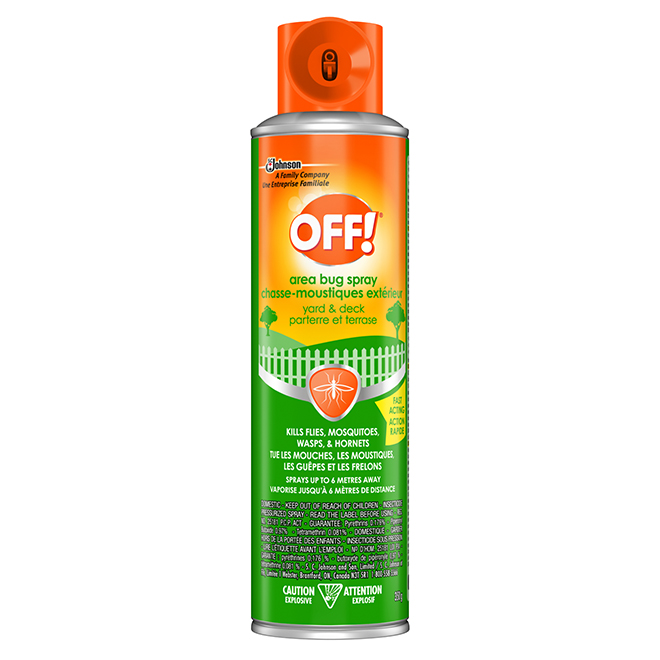 Outdoor Insect Repellent for Deck and Yard - 350 g