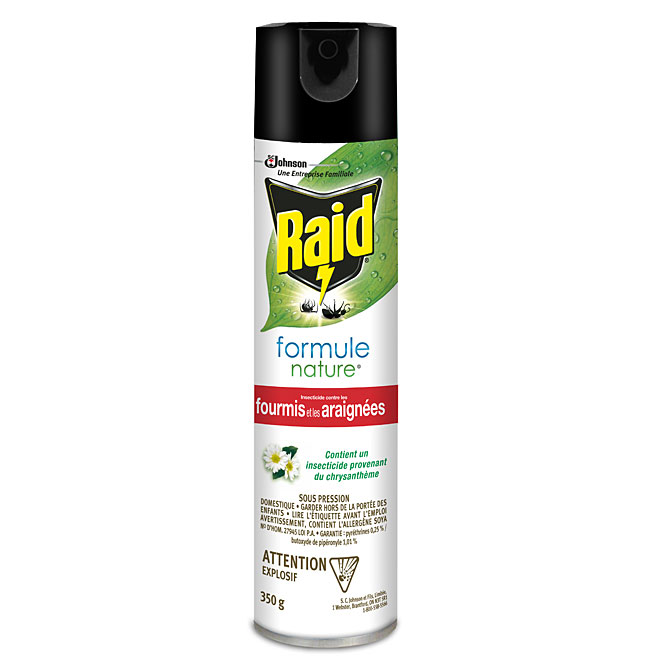 Insecticide pour fourmis et araignées